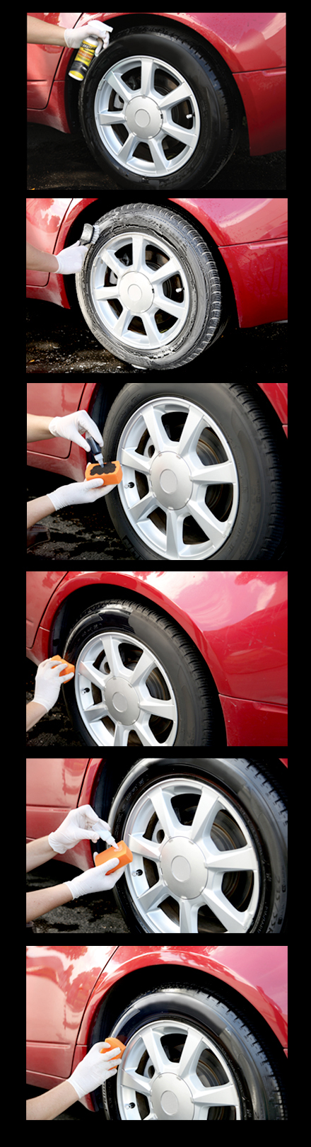 Permagloss Permanent Tire Protectant Tire Shine